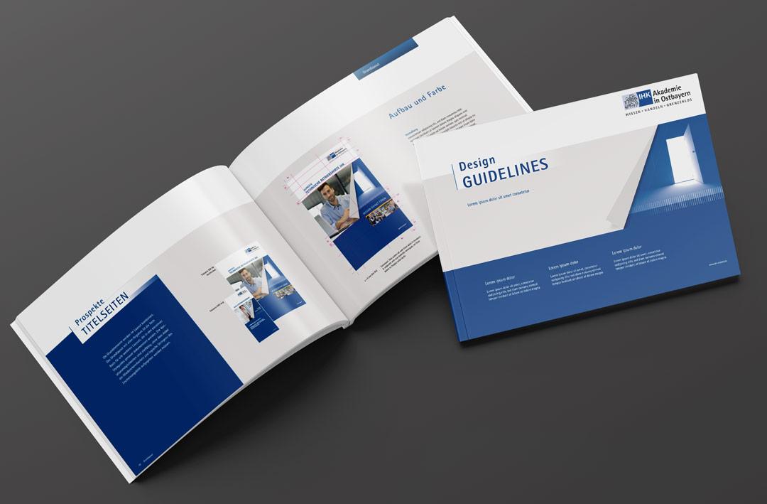von Renoarde für IHK erstelltes Design Handbuch