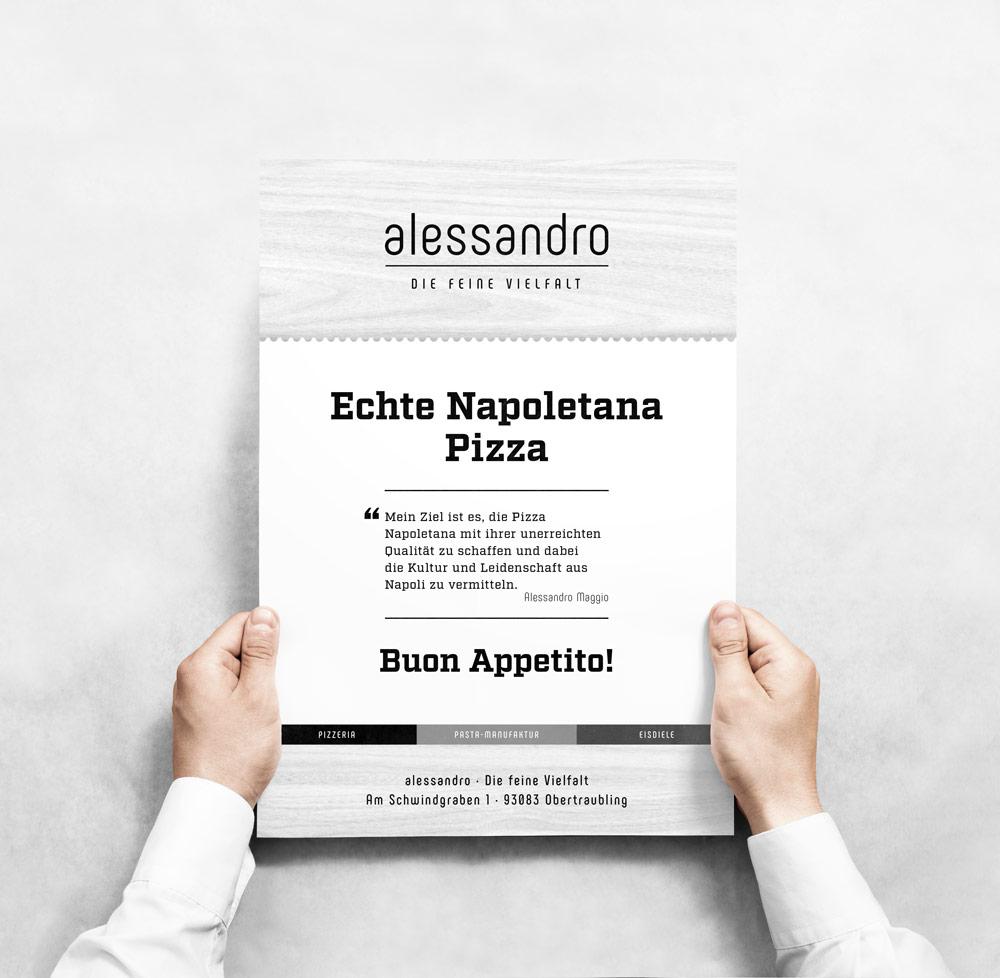 Magazin Anzeige von italiener Alessandro